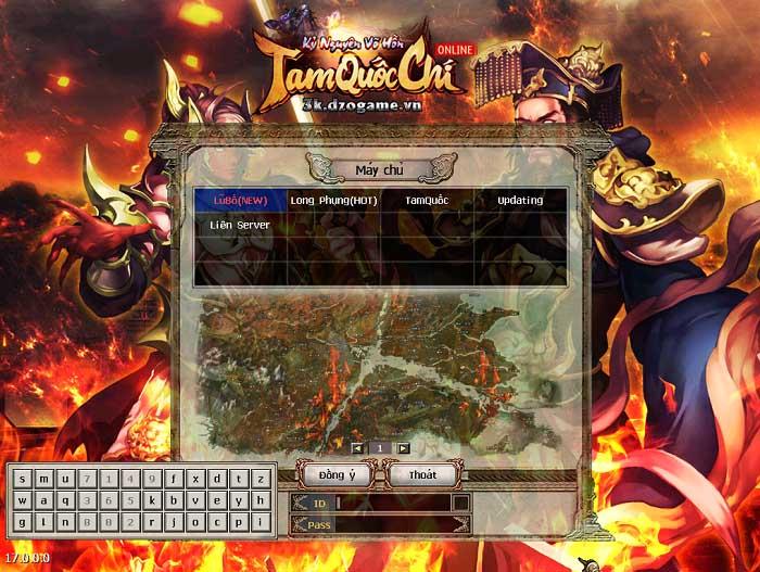 Tam Quốc Chí ra mắt máy chủ mới Lữ Bố - Thiên đường PK cho game thủ 1