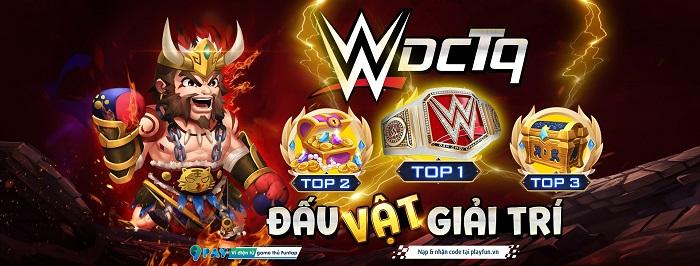 Dân Chơi Tam Quốc mở giải WWE: ĐẤU VẬT GIẢI TRÍ đỉnh của chóp có 1-0-2 0