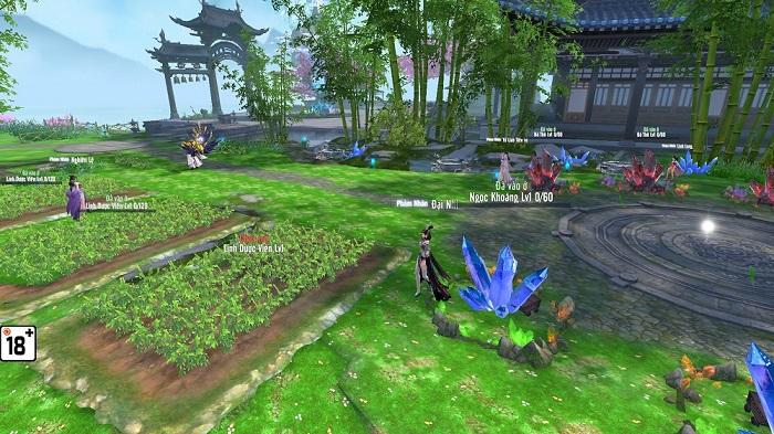 Cận cảnh tính năng Hồng Nhan của game Phàm Nhân Tu Tiên 3D Funtap 2