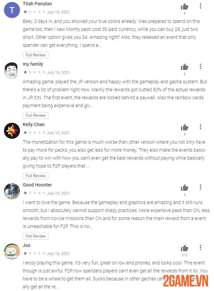 Coi thường game thủ Punishing: Gray Raven bị cộng đồng tẩy chay 2