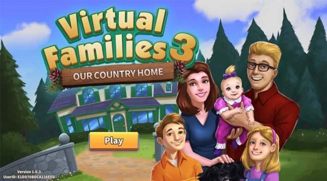 Virtual Families – Học cách làm trụ cột thông qua tựa game gia đình mobile