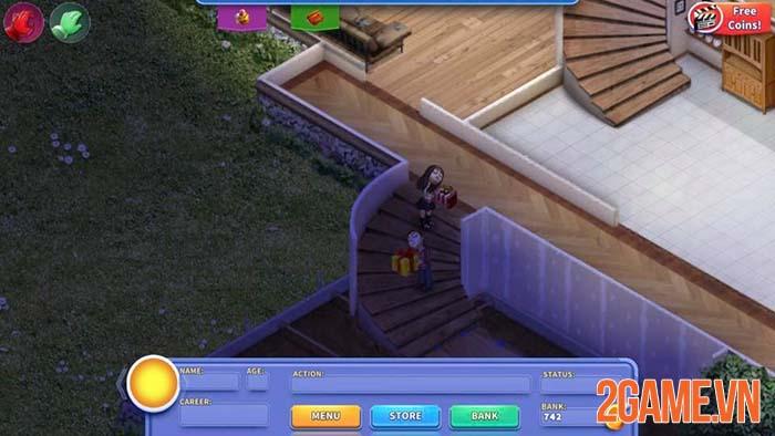 Virtual Families - Học cách làm trụ cột thông qua tựa game gia đình mobile 2