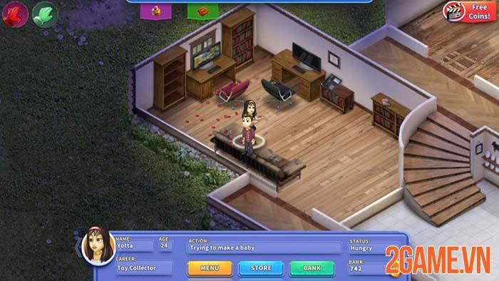 Virtual Families - Học cách làm trụ cột thông qua tựa game gia đình mobile 1