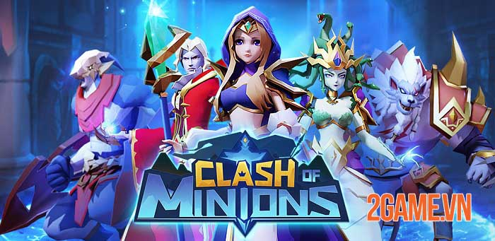 Clash of Minions - Game idle RPG mở ra hành trình khôi phục lại ánh sáng 0