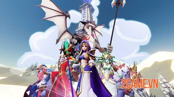 Clash of Minions - Game idle RPG mở ra hành trình khôi phục lại ánh sáng 1