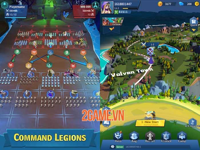 Clash of Minions - Game idle RPG mở ra hành trình khôi phục lại ánh sáng 3