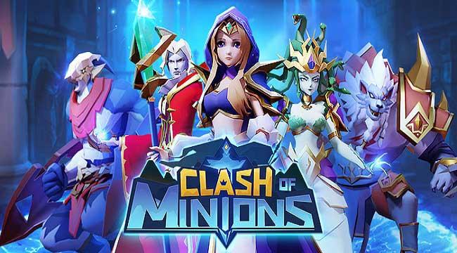 Clash of Minions – Game idle RPG mở ra hành trình khôi phục lại ánh sáng