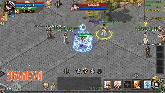 Kiếm Thế ADNX Mobile - Phiên bản hoàn thiện từ PC sang Mobile có bản quyền 3