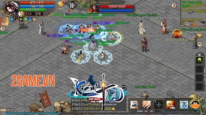 Kiếm Thế ADNX Mobile - Phiên bản hoàn thiện từ PC sang Mobile có bản quyền 4