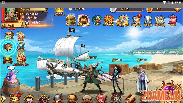 Trải nghiệm Hải Tặc Loạn Chiến - Tái hiện hành trình đến tân thế giới 1