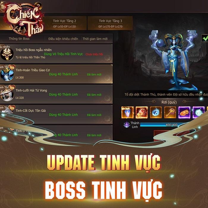 Sau Update 8.0 Bá Chủ đua TOP Tinh Thần Lực Chiến Thần Kỷ Nguyên đã lộ diện 3