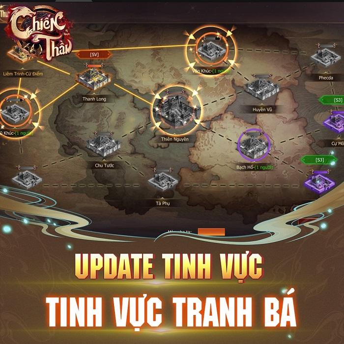 Sau Update 8.0 Bá Chủ đua TOP Tinh Thần Lực Chiến Thần Kỷ Nguyên đã lộ diện 4