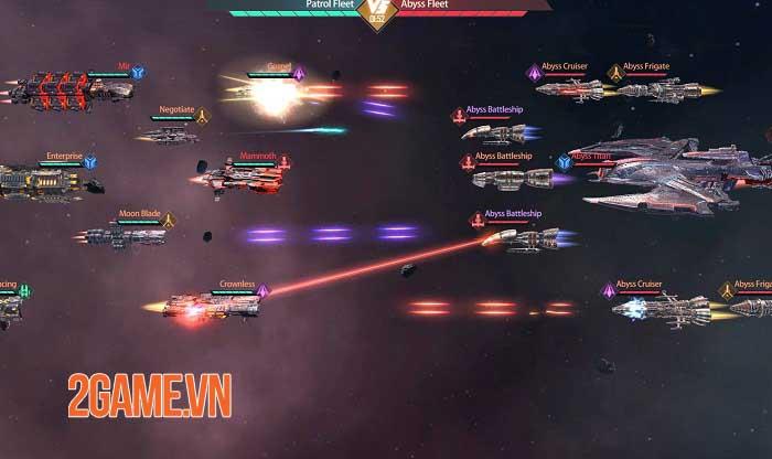 Clash of Starships - Game khoa học viễn tưởng về không gian thiên hà khổng lồ 2