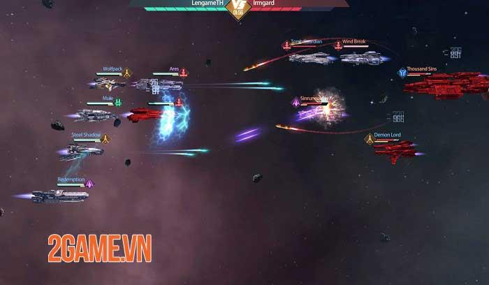 Clash of Starships - Game khoa học viễn tưởng về không gian thiên hà khổng lồ 3