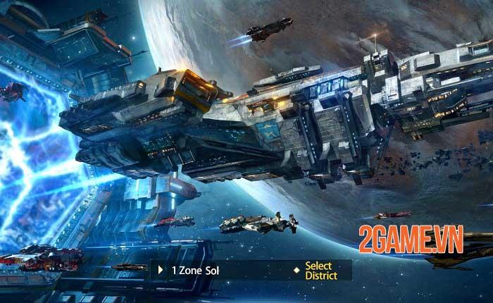 Clash of Starships - Game khoa học viễn tưởng về không gian thiên hà khổng lồ 5