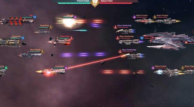 Clash of Starships – Game khoa học viễn tưởng về không gian thiên hà khổng lồ