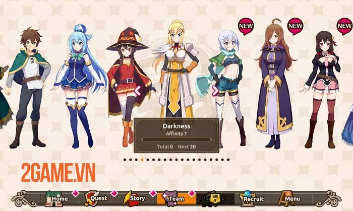 KonoSuba: Fantastic Days - Game nhập vai anime bùng nổ trí tưởng tượng 4