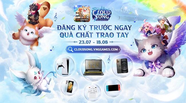 Cloud Song VNG mở đăng ký sớm với tổng giá trị giải thưởng lên đến 1 tỷ đồng