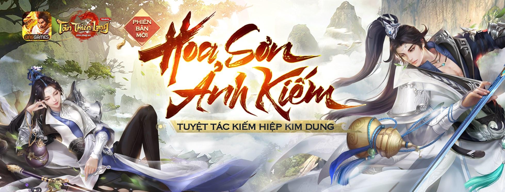 Tân Thiên Long Mobile VNG ấn định ngày ra mắt phiên bản mới Hoa Sơn Ảnh Kiếm 5