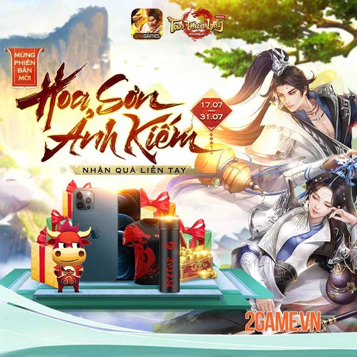 Tân Thiên Long Mobile VNG ấn định ngày ra mắt phiên bản mới Hoa Sơn Ảnh Kiếm 0