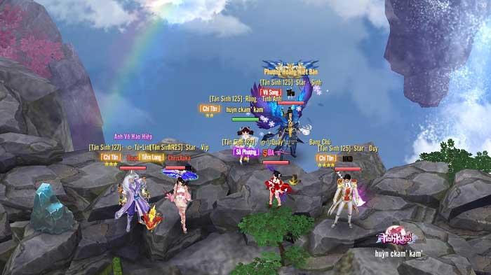 Tình Kiếm 3D ra mắt Landing mới hé lộ giải đấu PK hàng đầu 1