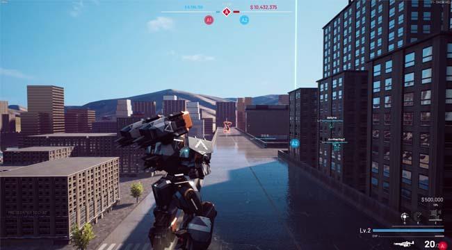 Battle Steed: Gunma – Game đại chiến robot 6 vs 6 chính thức ra mắt