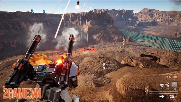 Battle Steed: Gunma - Game đại chiến robot 6 vs 6 chính thức ra mắt 2