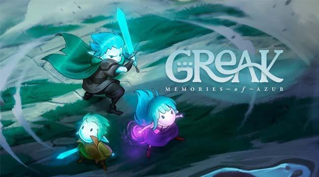 Greak : Memories of Azur – Game đi cảnh 2D hấp dẫn của Team17