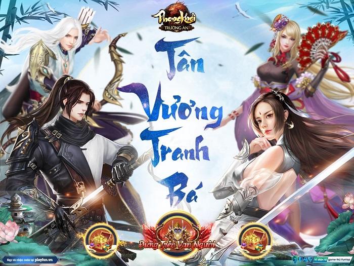 Phong Khởi Trường An mang đến hàng loạt giải đấu kịch tính cho cộng đồng game thủ 0