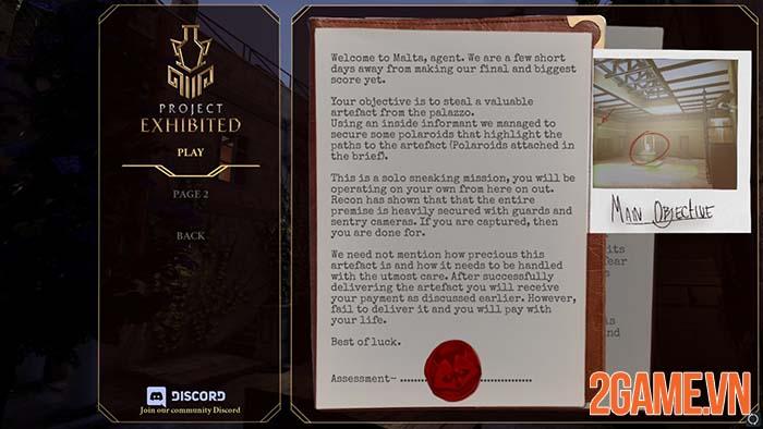 Project Exhibited - Game hành động lén lút hoàn toàn miễn phí trên Steam 1
