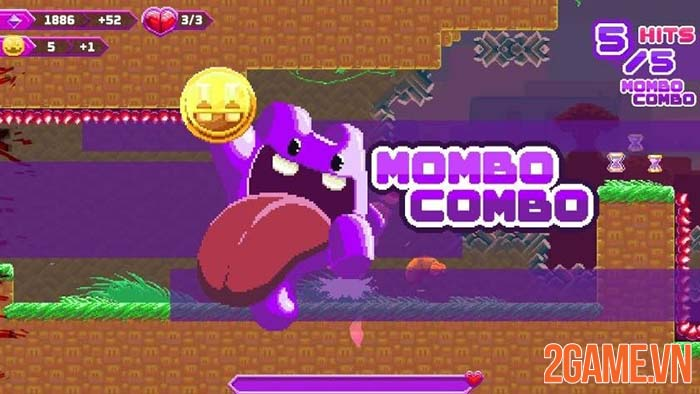 Super Mombo Quest - Game đi cảnh dùng lưỡi thú vị trên PC - Mobile 0