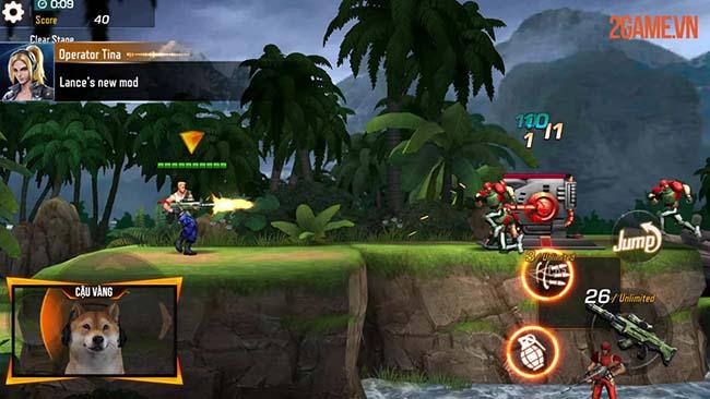Trải nghiệm Contra Returns – Huyền thoại game bắn súng đi cảnh tuổi thơ