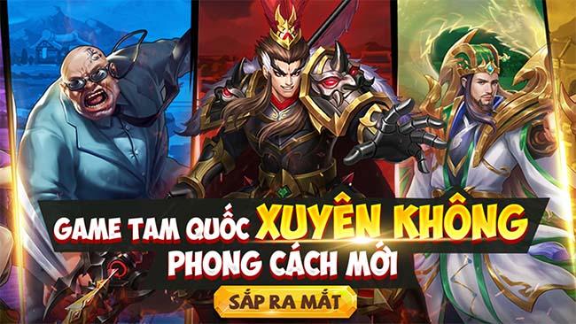 Biệt Đội 3Q Mobile – Game Tam Quốc xuyên không phong cách mới sắp ra mắt