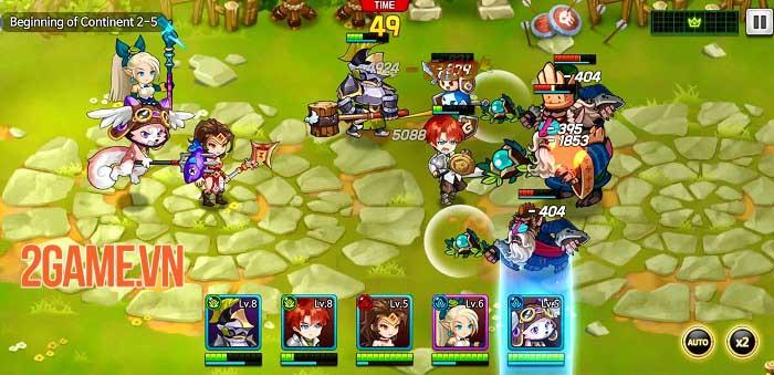 IDLE LUCA - Thách thức các thử thách vô tận với game idle RPG siêu đơn giản 1