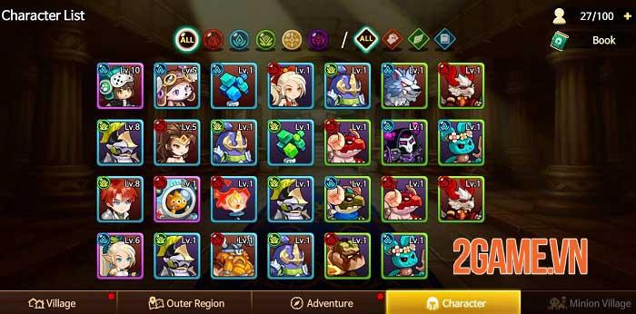 IDLE LUCA - Thách thức các thử thách vô tận với game idle RPG siêu đơn giản 4