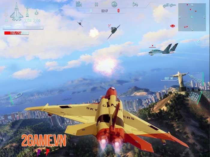 Sky Gamblers: Infinite Jets - Game mô phỏng chuyến bay mới lạ, độc đáo 3