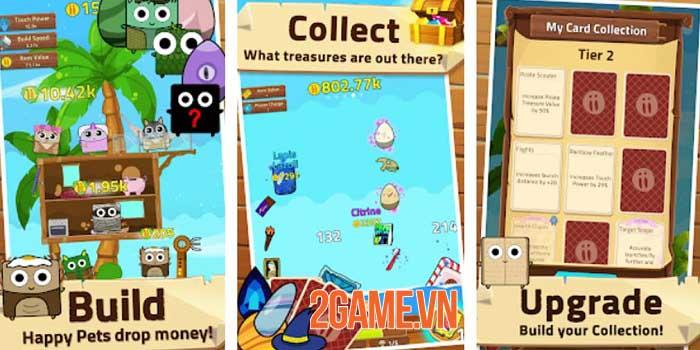 Infinity Island - Game nhàn rỗi thu thập vật nuôi và xây dựng hòn đảo 1