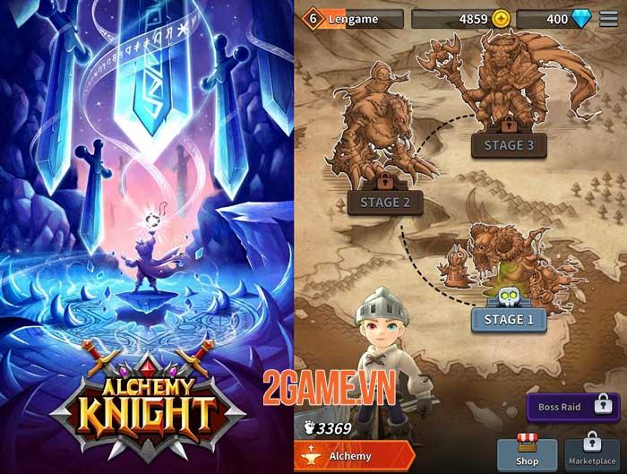 Alchemy Knight - Game auto ARPG với các hiệu ứng kĩ năng lạ mắt 0