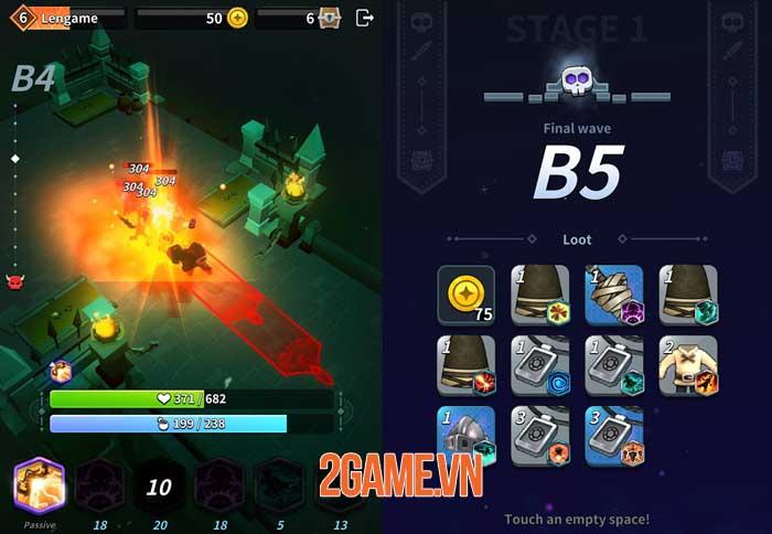 Alchemy Knight - Game auto ARPG với các hiệu ứng kĩ năng lạ mắt 3