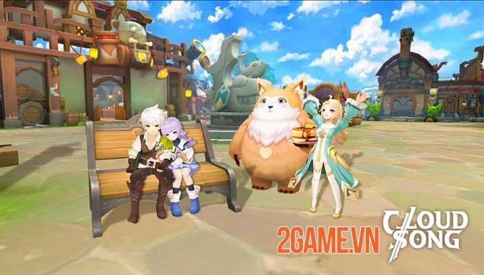 Khám phá thế giới fantasy, tận hưởng đồ họa tuyệt đỉnh trong Cloud Song VNG 1
