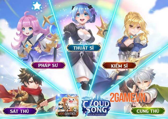 Khám phá thế giới fantasy, tận hưởng đồ họa tuyệt đỉnh trong Cloud Song VNG 3