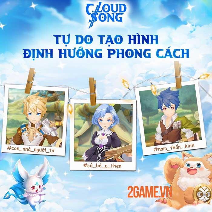 Khám phá thế giới fantasy, tận hưởng đồ họa tuyệt đỉnh trong Cloud Song VNG 4