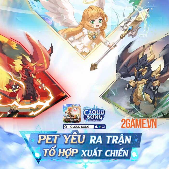 Khám phá thế giới fantasy, tận hưởng đồ họa tuyệt đỉnh trong Cloud Song VNG 6