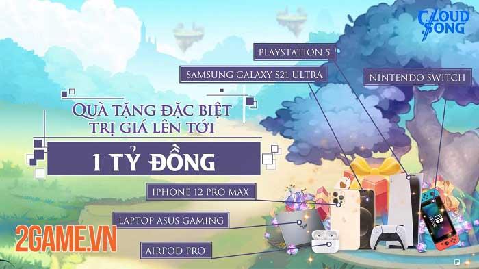 Khám phá thế giới fantasy, tận hưởng đồ họa tuyệt đỉnh trong Cloud Song VNG 8