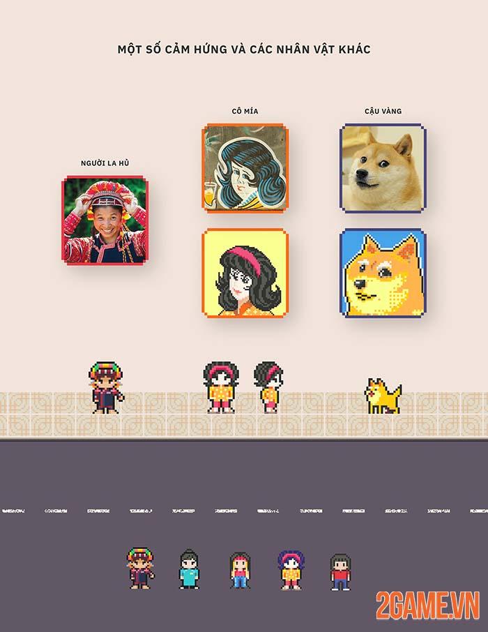 Miền Du Kí - Dự án game Pixel mang đậm bản sắc văn hóa Việt 2