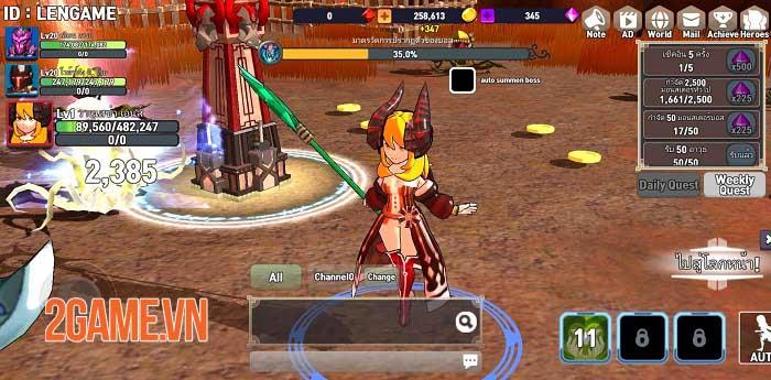 Brave Arena - Game đấu nhóm nhàn rỗi với gameplay phong phú 0