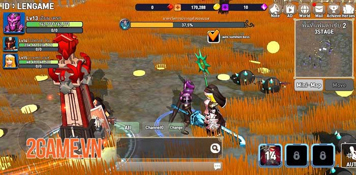 Brave Arena - Game đấu nhóm nhàn rỗi với gameplay phong phú 2
