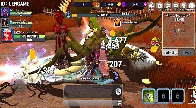 Brave Arena – Game đấu nhóm nhàn rỗi với gameplay phong phú