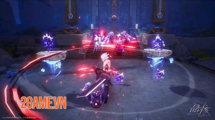 Crystal of Atlan mở ra một lục địa ma thuật kết hợp người máy huyền bí 2