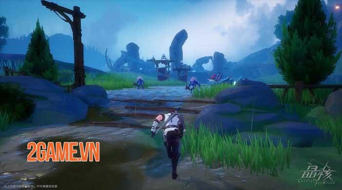 Crystal of Atlan mở ra một lục địa ma thuật kết hợp người máy huyền bí 4